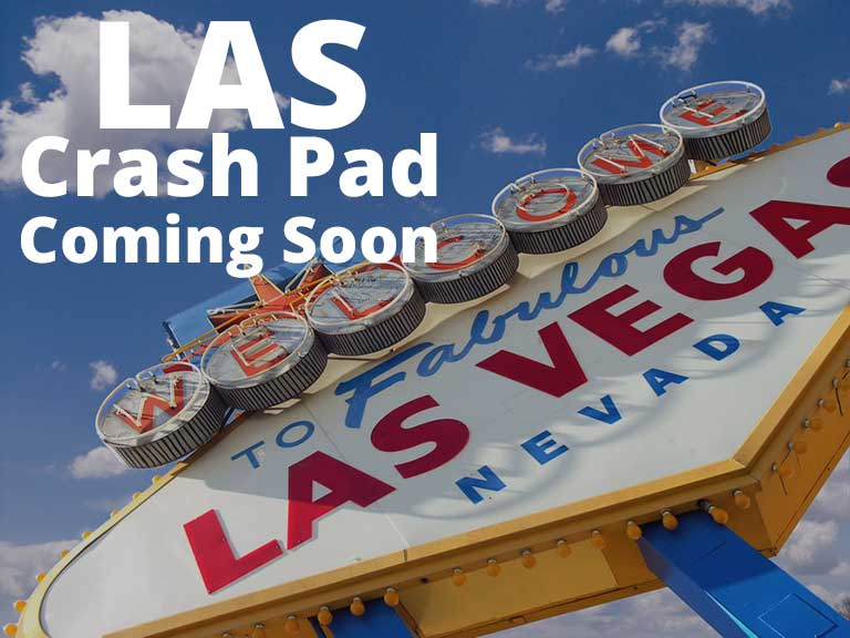 Crash Pads in Las Vegas